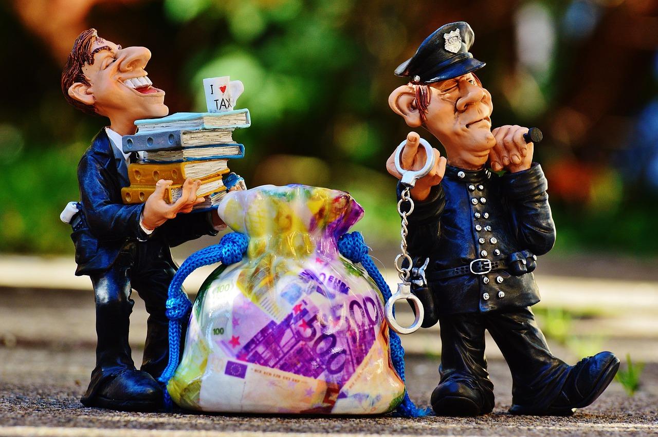 detenido por evasión de impuestos