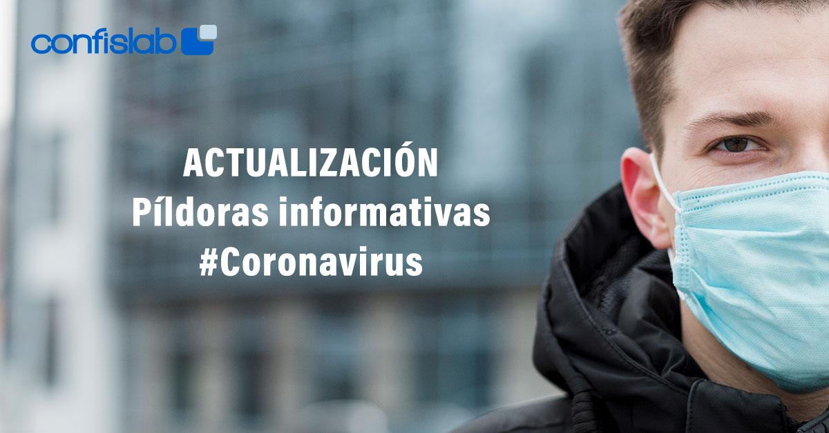 Píldoras informativas Coronavirus